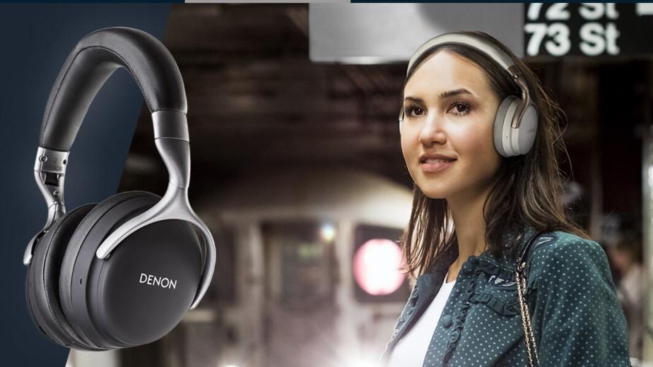 Nowe słuchawki Denon GC: aktywne wyciszanie, aptX HD