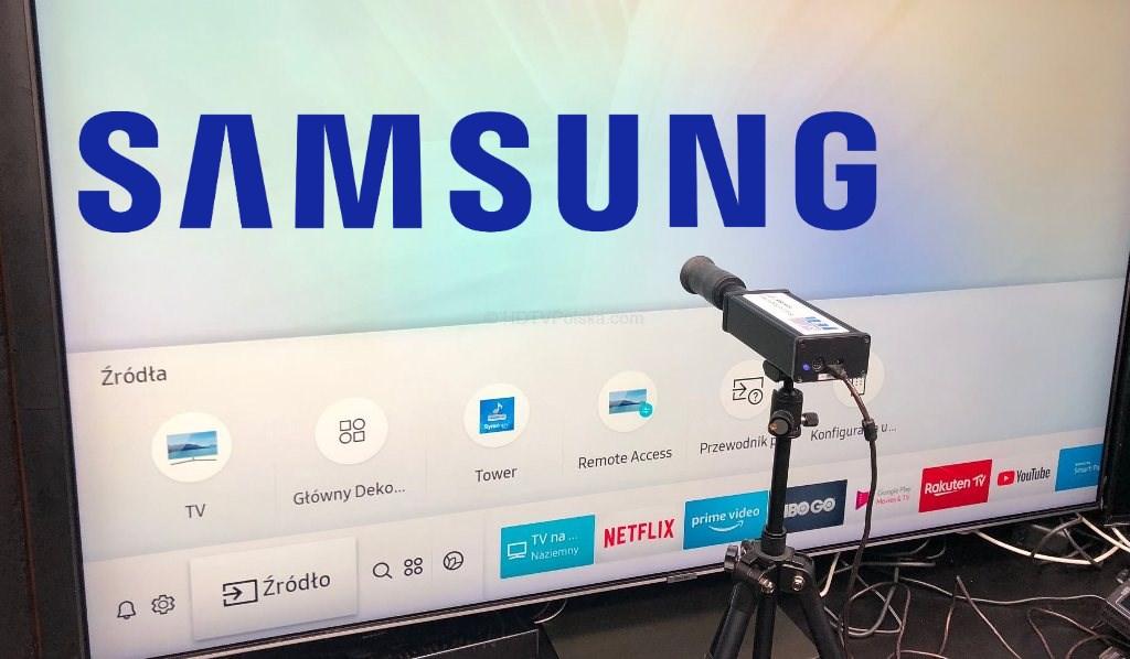 Gotowe ustawienia obrazu telewizorów Samsung 2018/19