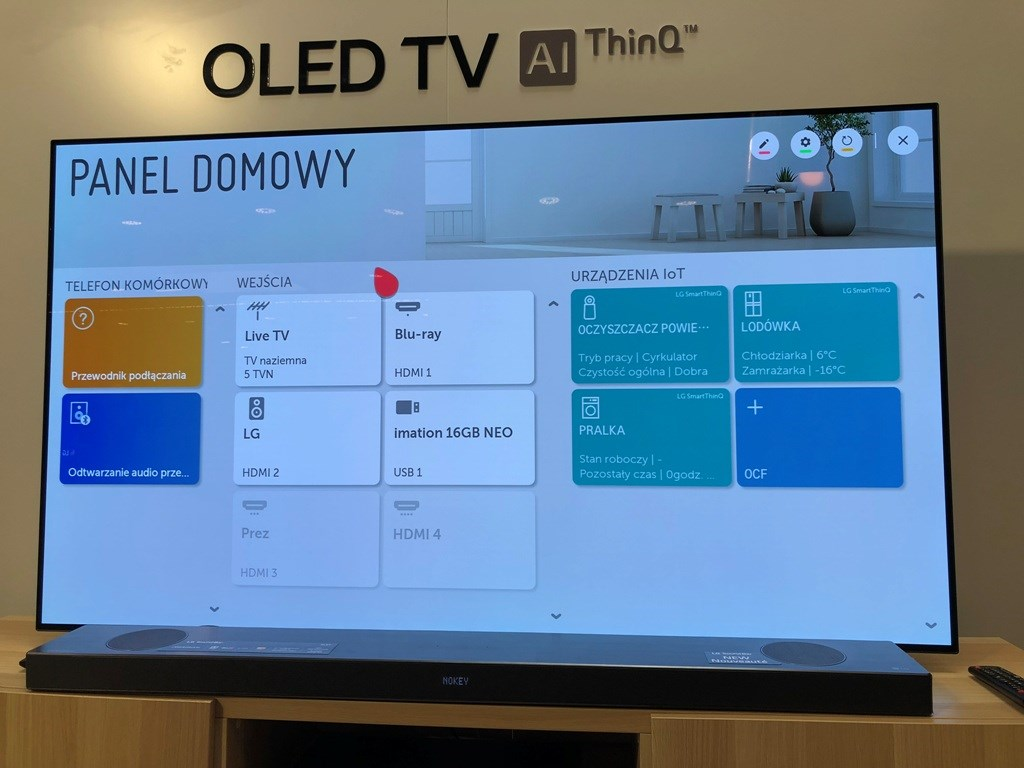System webOS 2019 SM9800 NanoCell OLED test