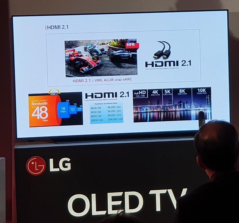 LG OLED 2019 HDMI 2.1