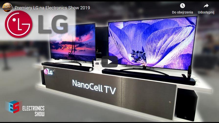 LG na Electronics Show 2019