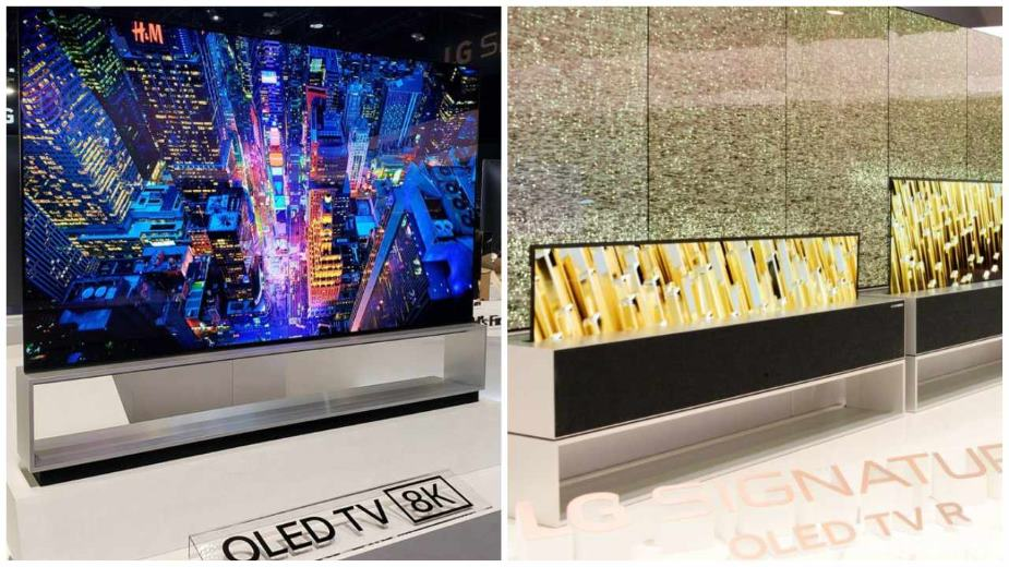 Wiemy, kiedy zadebiutuje LG Z9 8K oraz zwijany LG OLED R