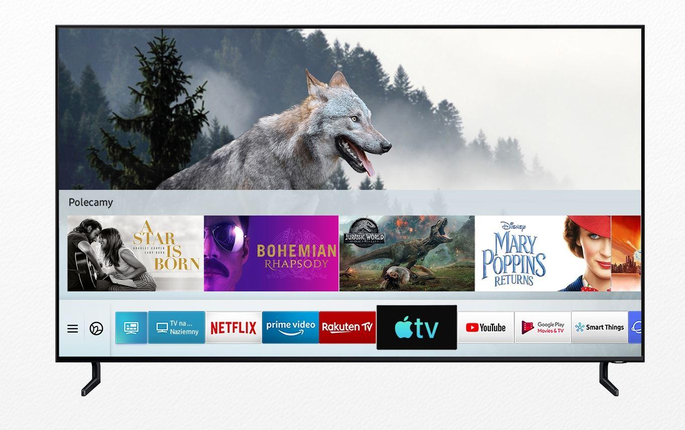 Apple TV i AirPlay 2 od dziś w telewizorach Samsung