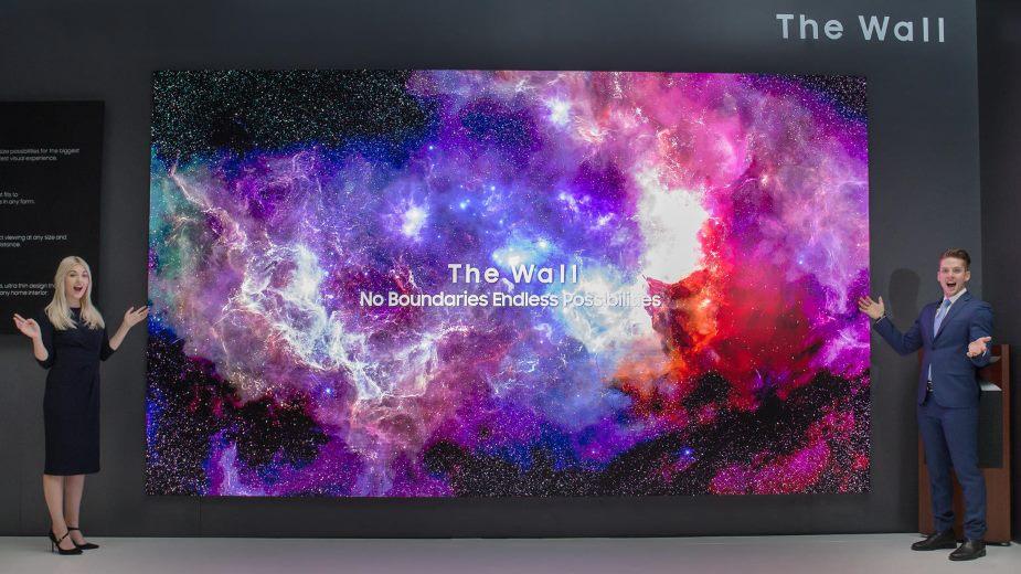 Samsung The Wall, Sony Crystal LED nagrodzone za najlepsze ekrany