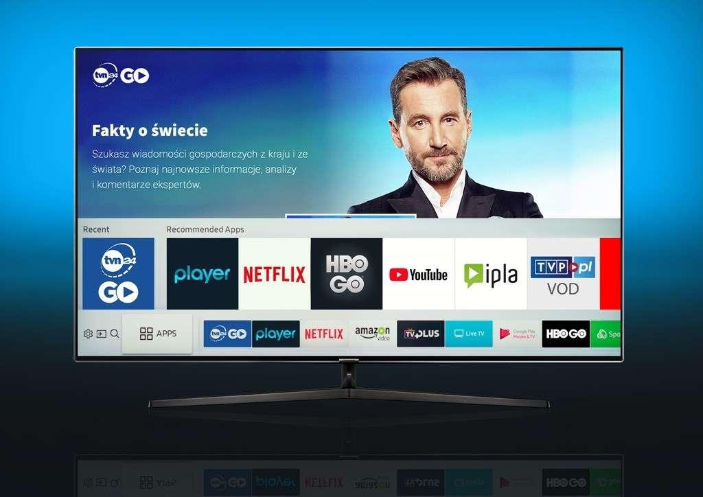 TVN24 Go Tizen smart TV test