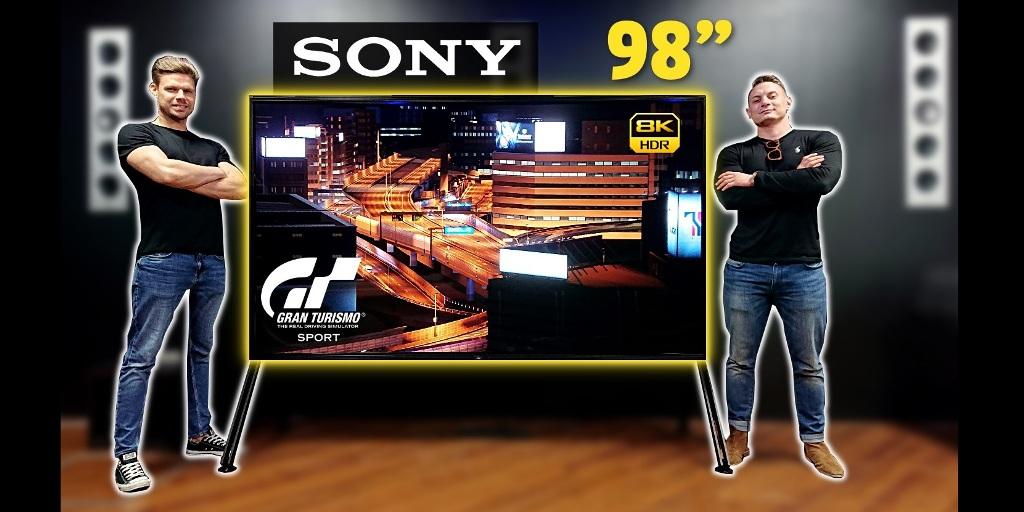 Telewizor z przyszłości: Sony ZG9 8K HDR | TEST |