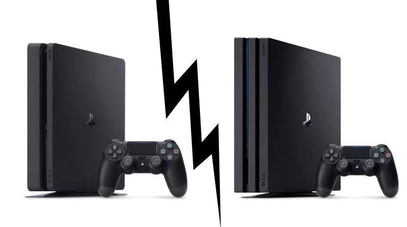 Ps4 slim kontra PS4 Pro