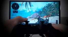 Test trybu gra dla graczy w Samsung TV QLED Q90R