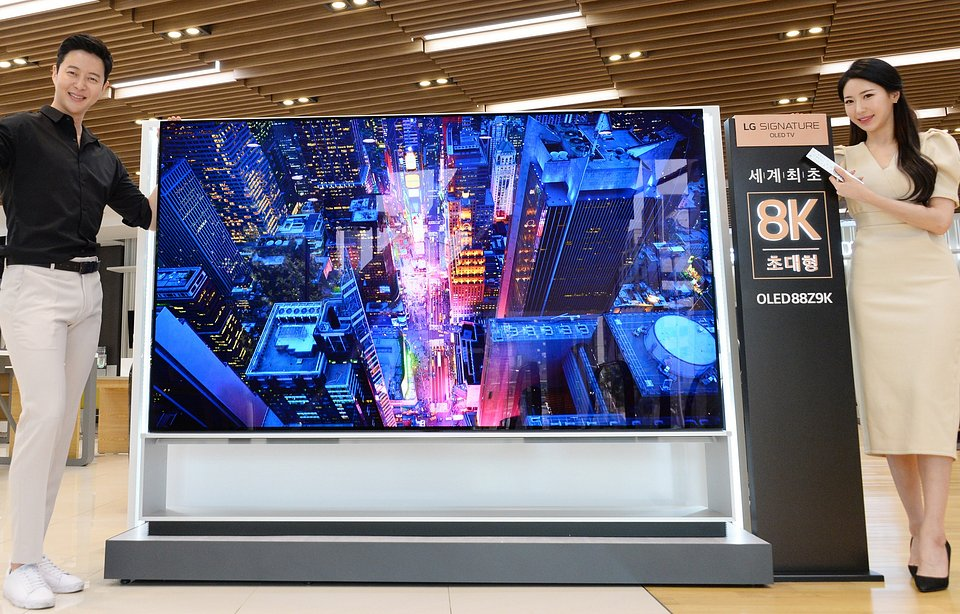 OLED 8K LG Z9