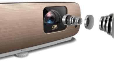 Test projektor BenQ W2700 4K HDR