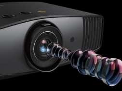 Test projektor BenQ W5700 4K HDR