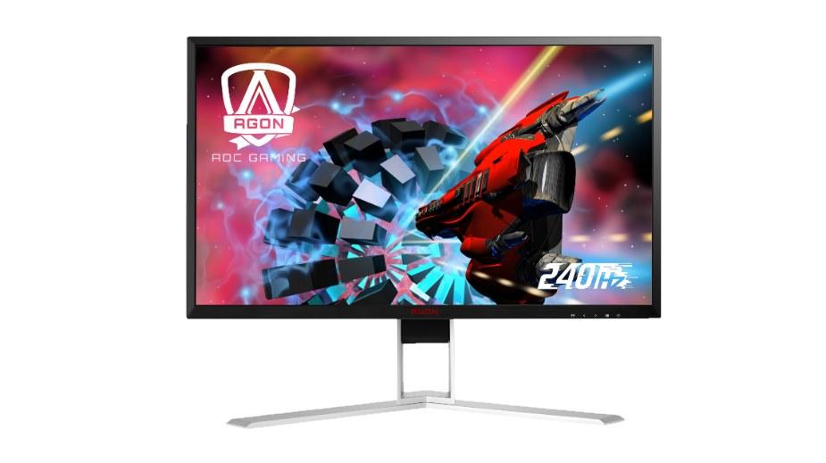AOC przedstawia dwa monitory 240 Hz z czasem reakcji 0,5 ms!