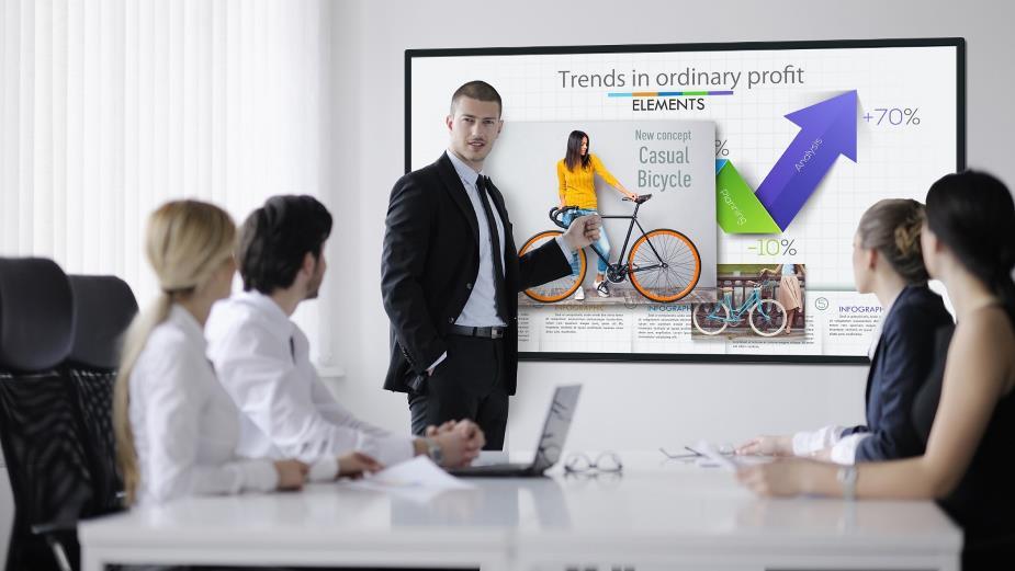 Panasonic wprowadza biznesowe ekrany 4K z serii CQ1
