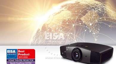 Test BenQ W5700 EISA projektor