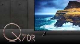 Nowa klasa wyższa Samsung QLED Q70R | TEST |