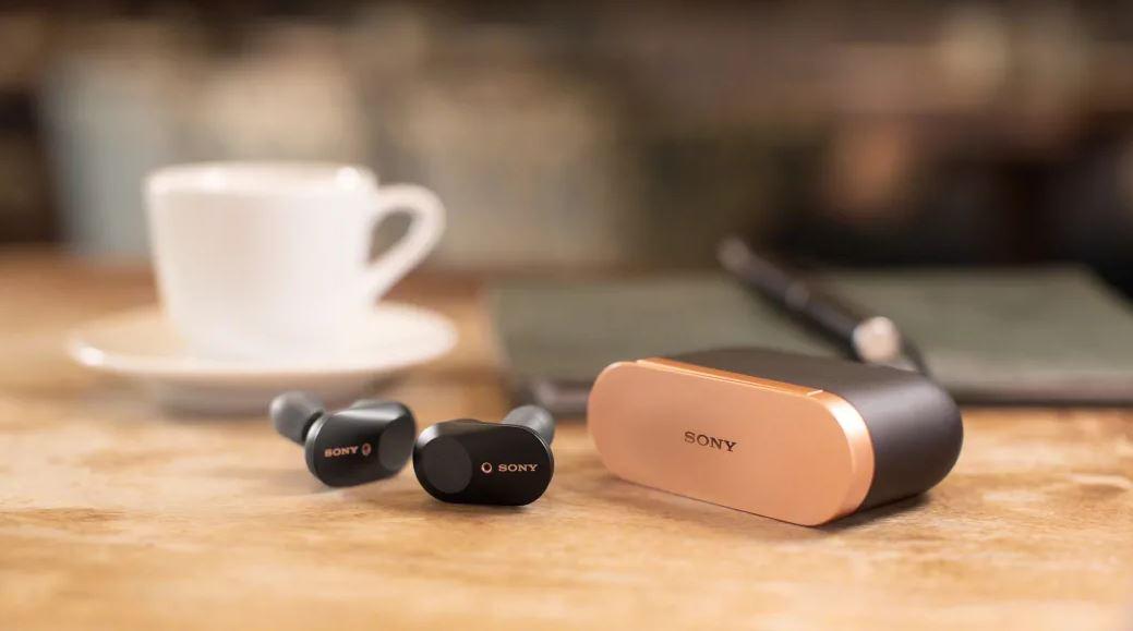 Słuchawki Sony WF-1000XM3 z systemem osłabiania zewnętrznego hałasu