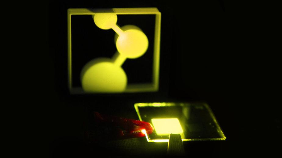 AUO zademonstruje panel OLED 4K 120 Hz drukowany atramentowo