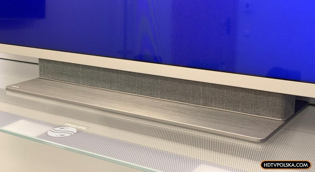 test Philips PUS7504 ambilight dźwięk