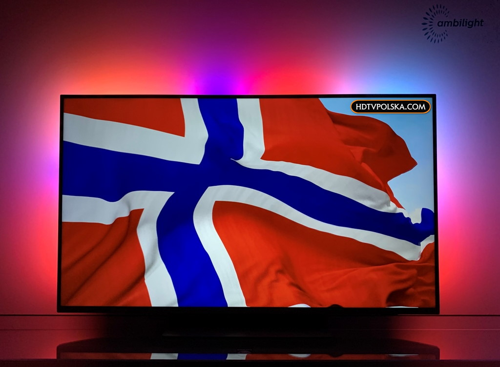 test Philips PUS7504 ambilight dźwięk