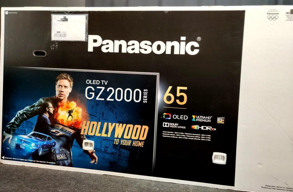 Panasonic OLED GZ2000 test