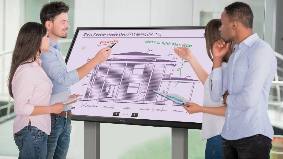 Sharp Aquos Board – interaktywne ekrany 4K