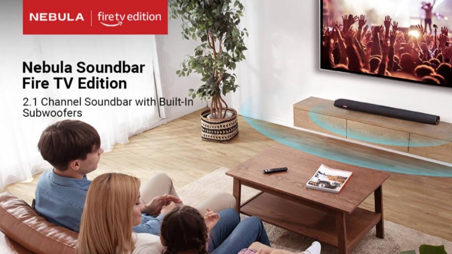 Pierwsza listwa głośnikowa Amazon: Nebula Soundbar Fire TV Edition