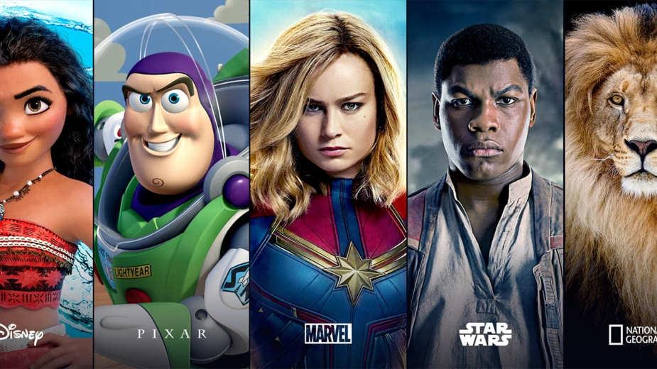 Disney+ – pełna lista filmów i seriali