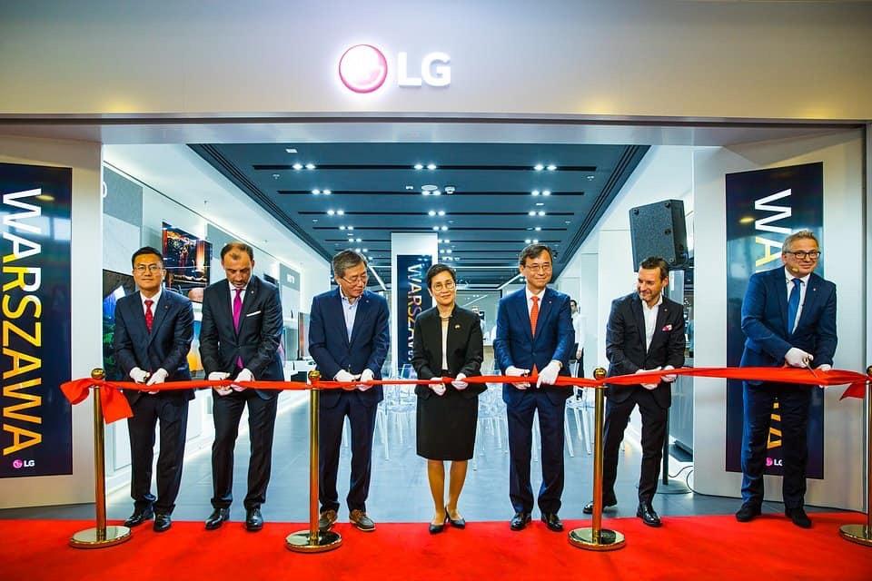 Pierwszy Brand Store LG w Europie – relacja z otwarcia