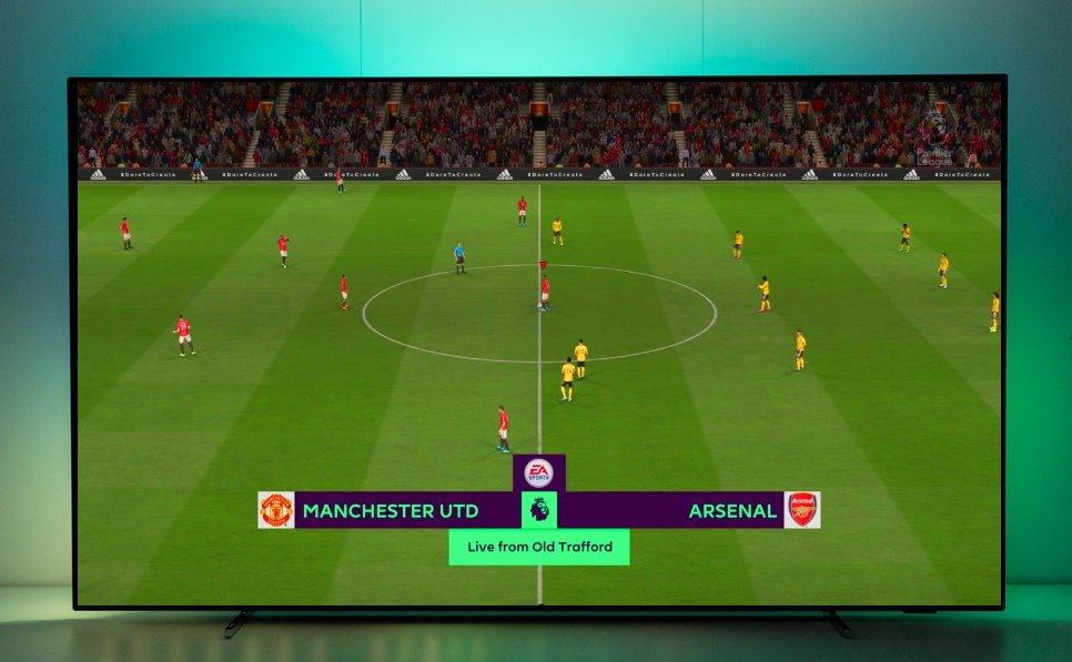 Jaki telewizor FIFA20 Philips OLED 803