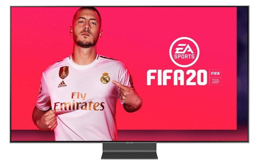 Jaki telewizor FIFA20 Samsung Q90R