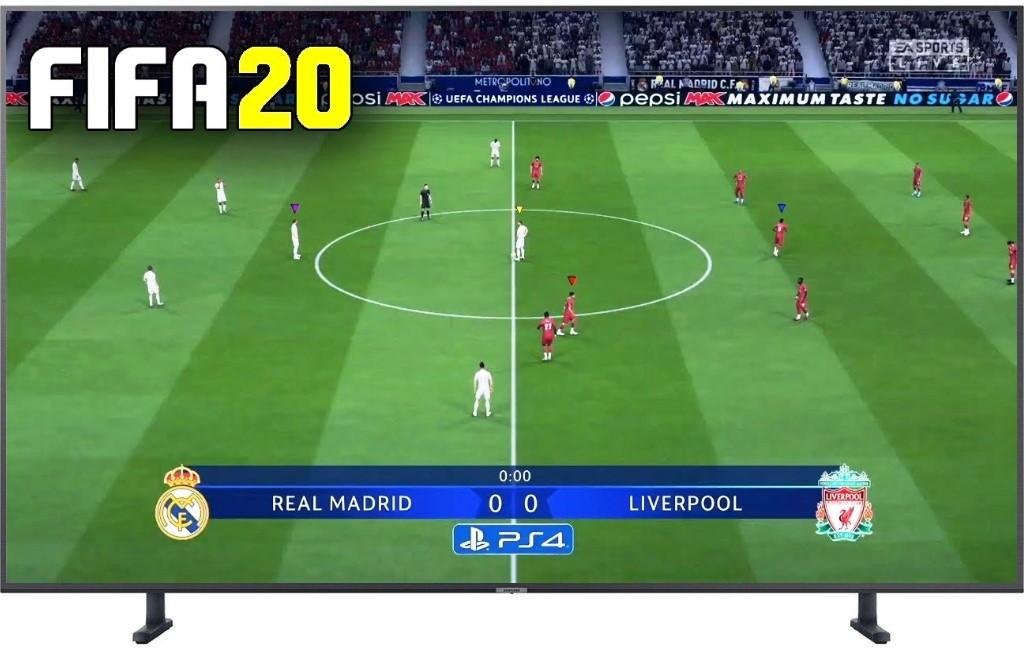 Jaki telewizor FIFA20 Samsung RU8000
