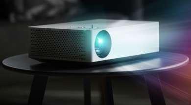 LG HU70 LA przystępny projektor 4K Asystent Google
