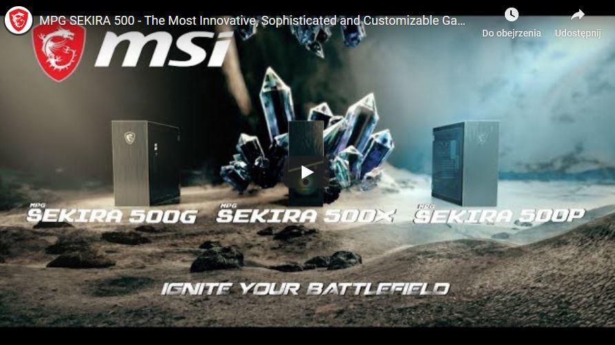 Obudowa MSI MPG Sekira 500G 8