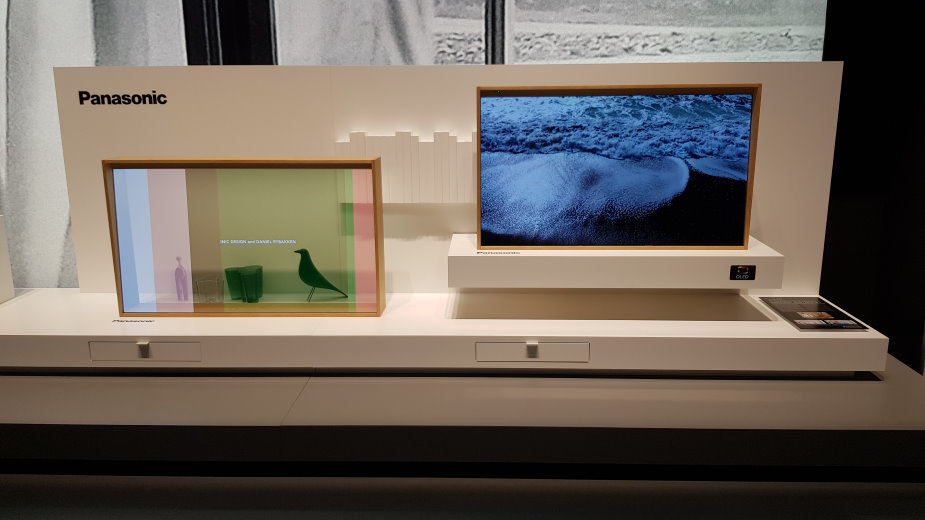 Panasonic: przezroczysty OLED TV wejdzie do sprzedaży