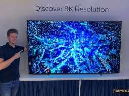 Premiera Philips OLED 8K 88 cali