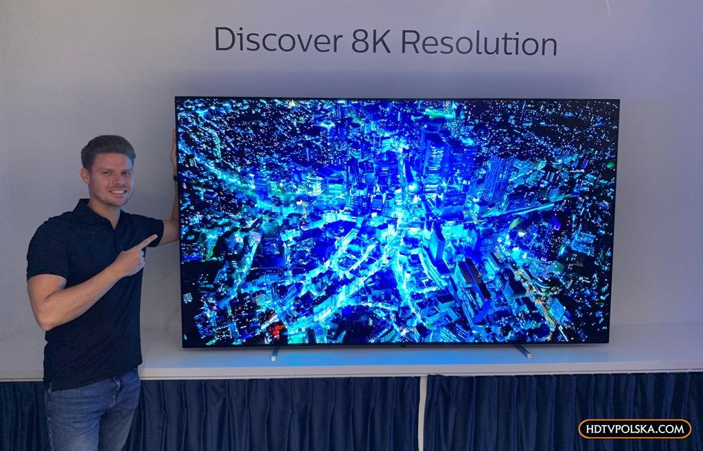 Philips zaskakuje 88-calowym OLED 8K!