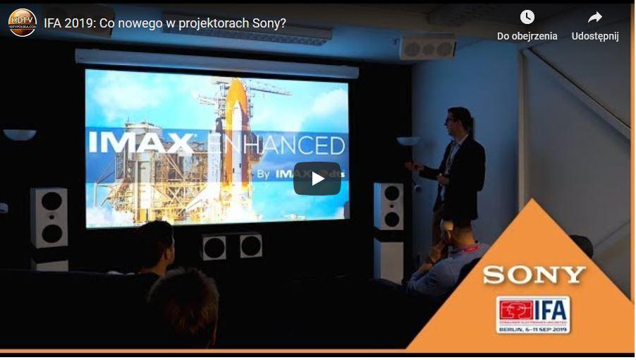 Projektory Sony 2019 nowe oprogramowanie