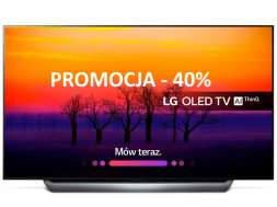 Promocja LG OLED C8 wrzesień 2019