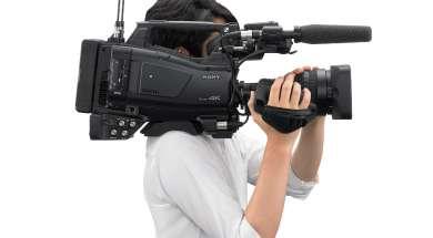naramienny Sony kamkorder XDCAM PXW-Z750
