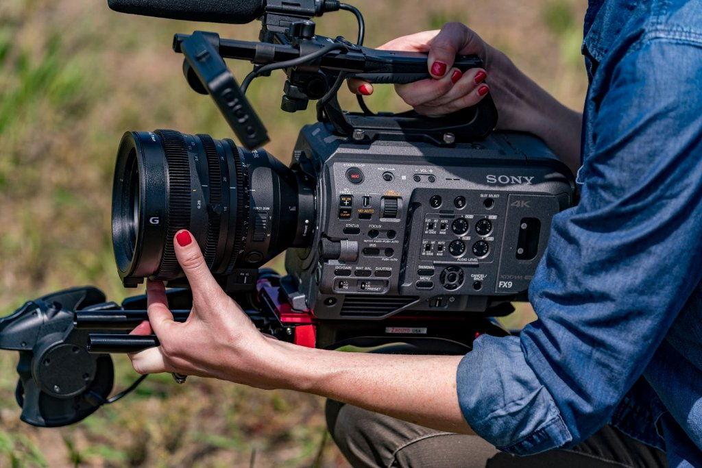 Kamera Sony z pełnoklatkowym przetwornikiem