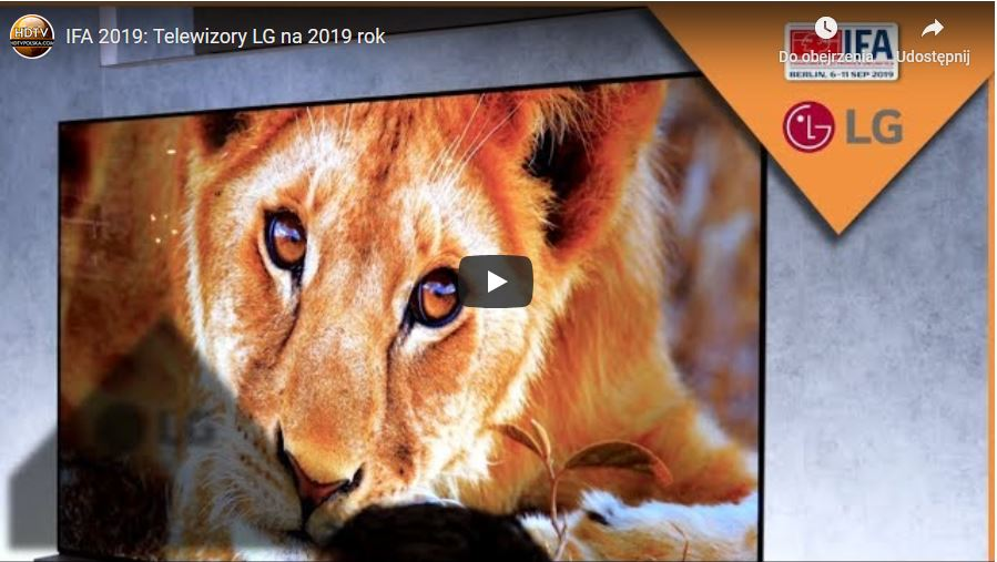 Telewizory LG OLED 2019 co wybrać