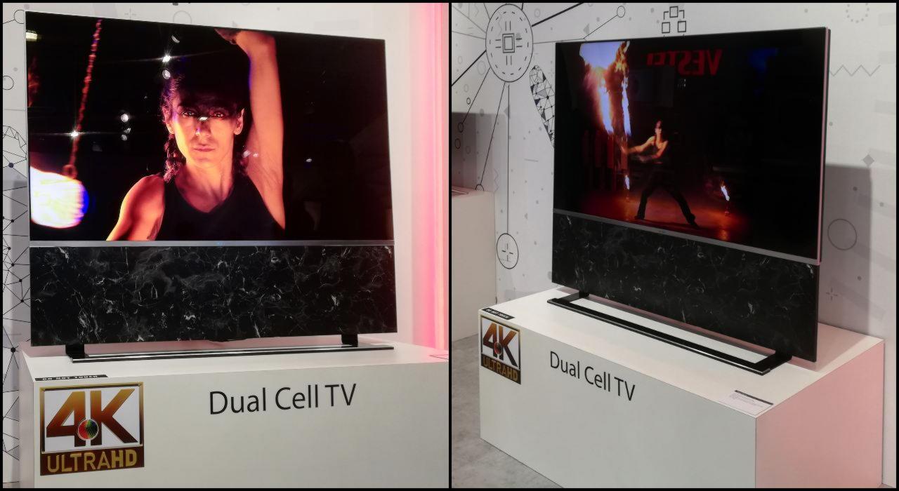 dwuwarstwowy LCD