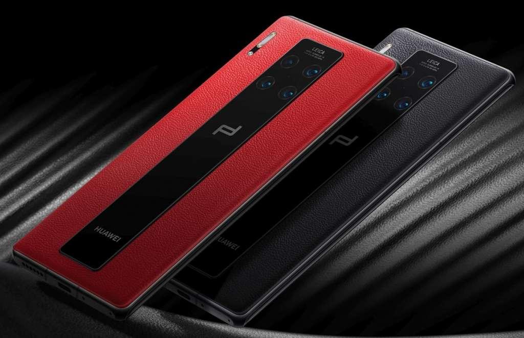 Huawei Mate 30: 7 kamer, ekstremalnie zakrzywiony ekran i model Porsche Design