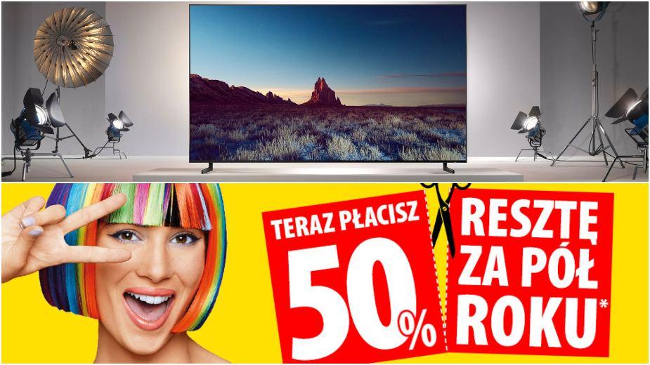 Media Expert: zobacz promocje na telewizory 4K, projektory i soundbary