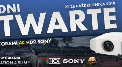 Dni otwarte Sony HCX 2019 PS4 Pro Projektory Gran Turismo Sport