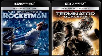Rocketman Terminator Ocalenie 4K Ultra HD Blu-ray