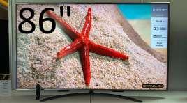 Przystępna cenowo seria LG UM7600 | TEST | Tani GIGANT 86 cali 120Hz