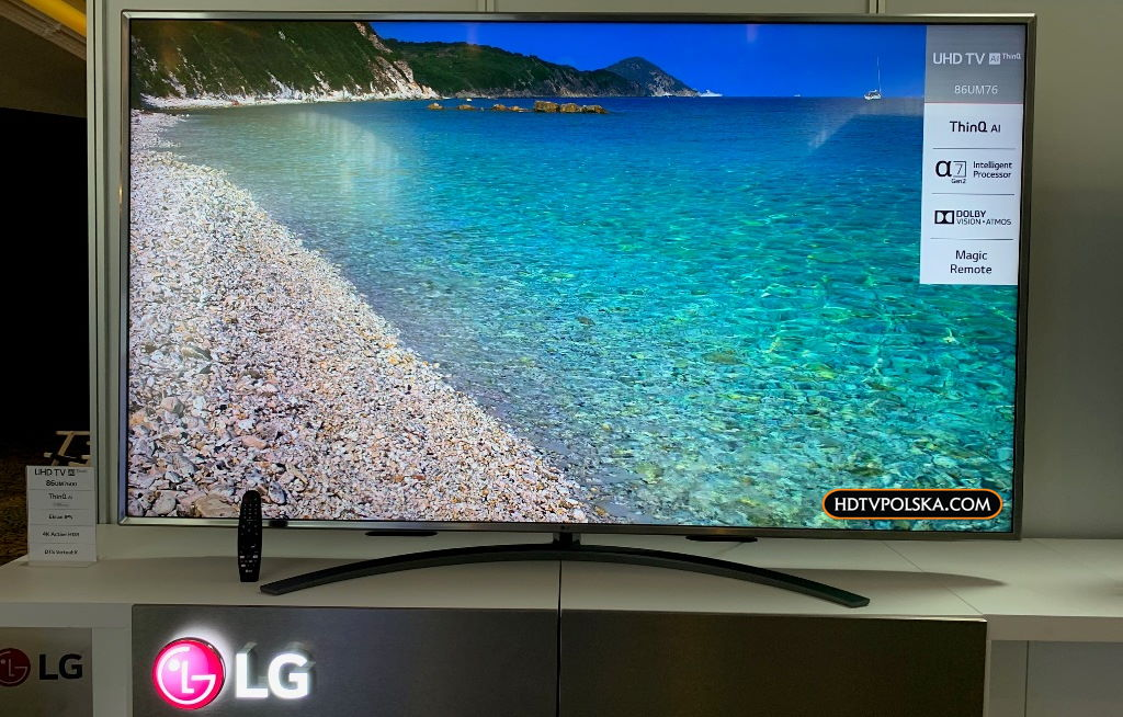 Test LG UM7600 Dolby Vision tani