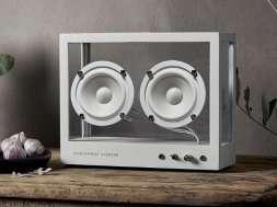 Transparent Sound Transparent Speaker przezroczysty głośnik 1