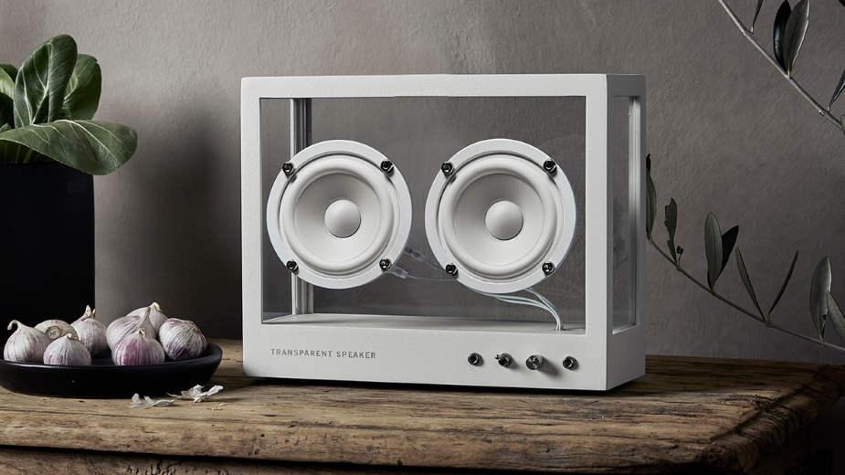 Firma Transparent Sound stworzyła… przezroczysty głośnik